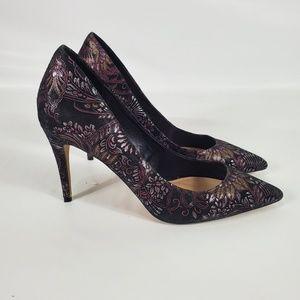 Aldo Floral Stiletto Heels
